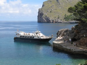 Mallorca tour de l'île: bateau Soller Sa Calobra