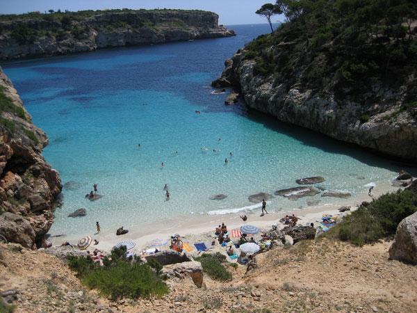 Visiter Majorque-plages Calo-des-Moro