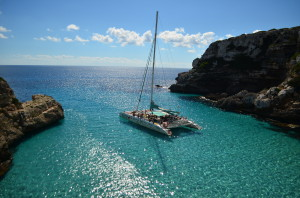 Mallorca, excursion en catamaran