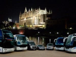 bus cathèdrale Palma Majorque