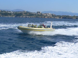 Mallorca speed boats, excursion baie Palma