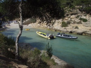 Majorque speed boats tour