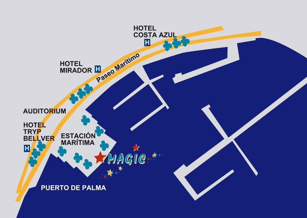 Palma Mallorca, Sortie en catamaran