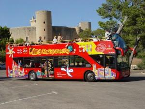 Visiter Majorque bus touristique Palma de Majorque
