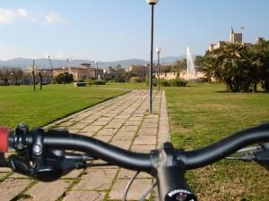 Palma à vélo Parc-de-la-Mer