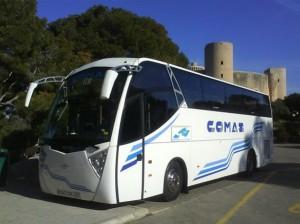 autocar château de Bellver excursion Palma